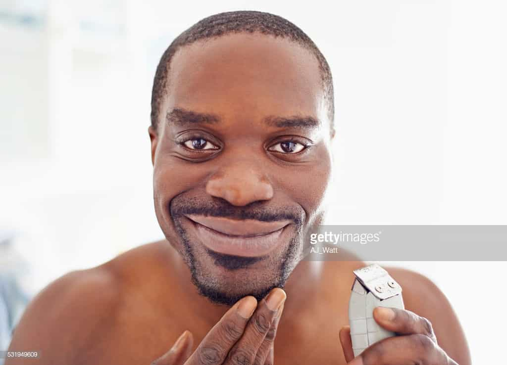 Shaving time off my morning routine with my electric razor